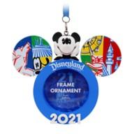 Mickey Mouse Frame Ornament – Disneyland 2021