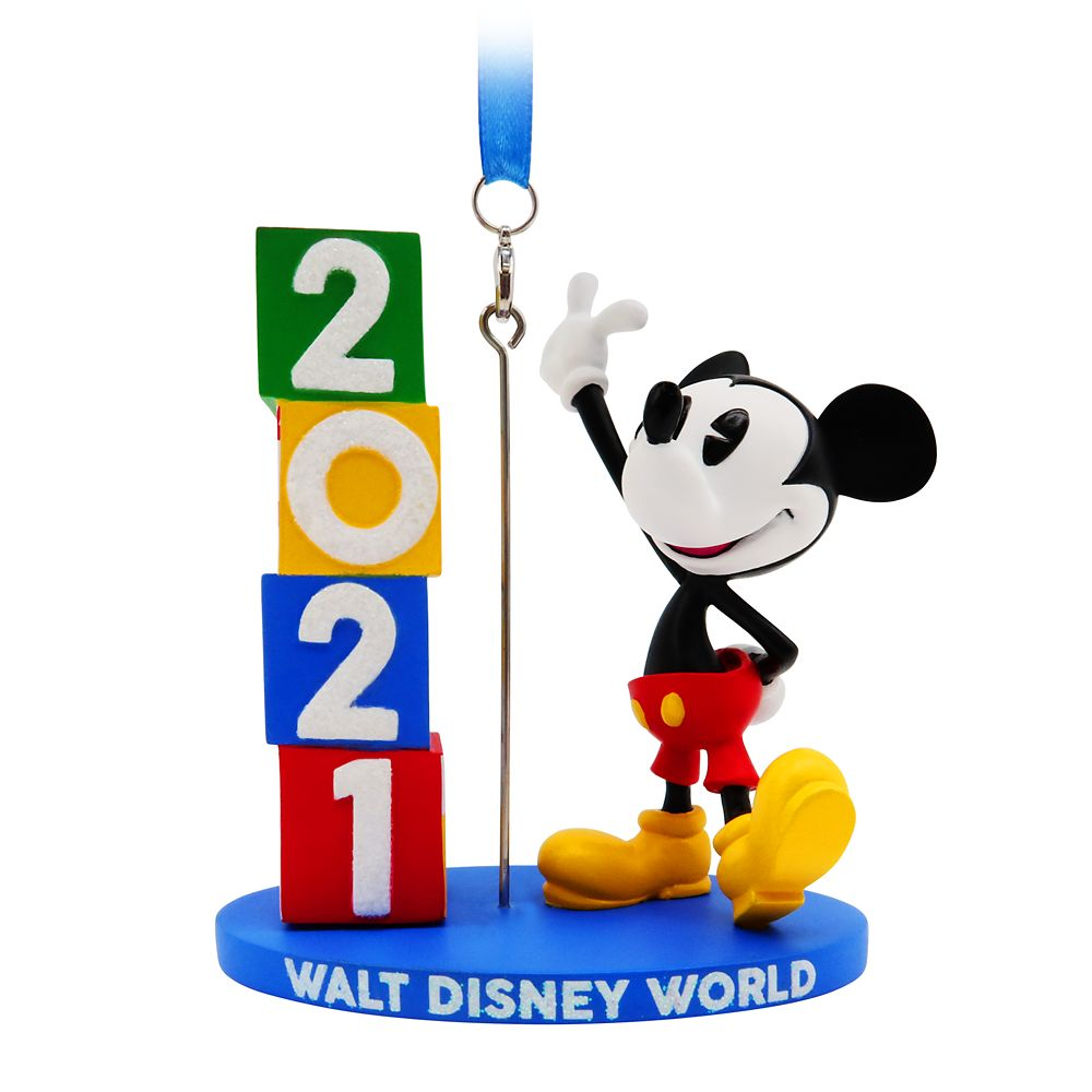 Mickey Mouse Figural Ornament – Walt Disney World 2021