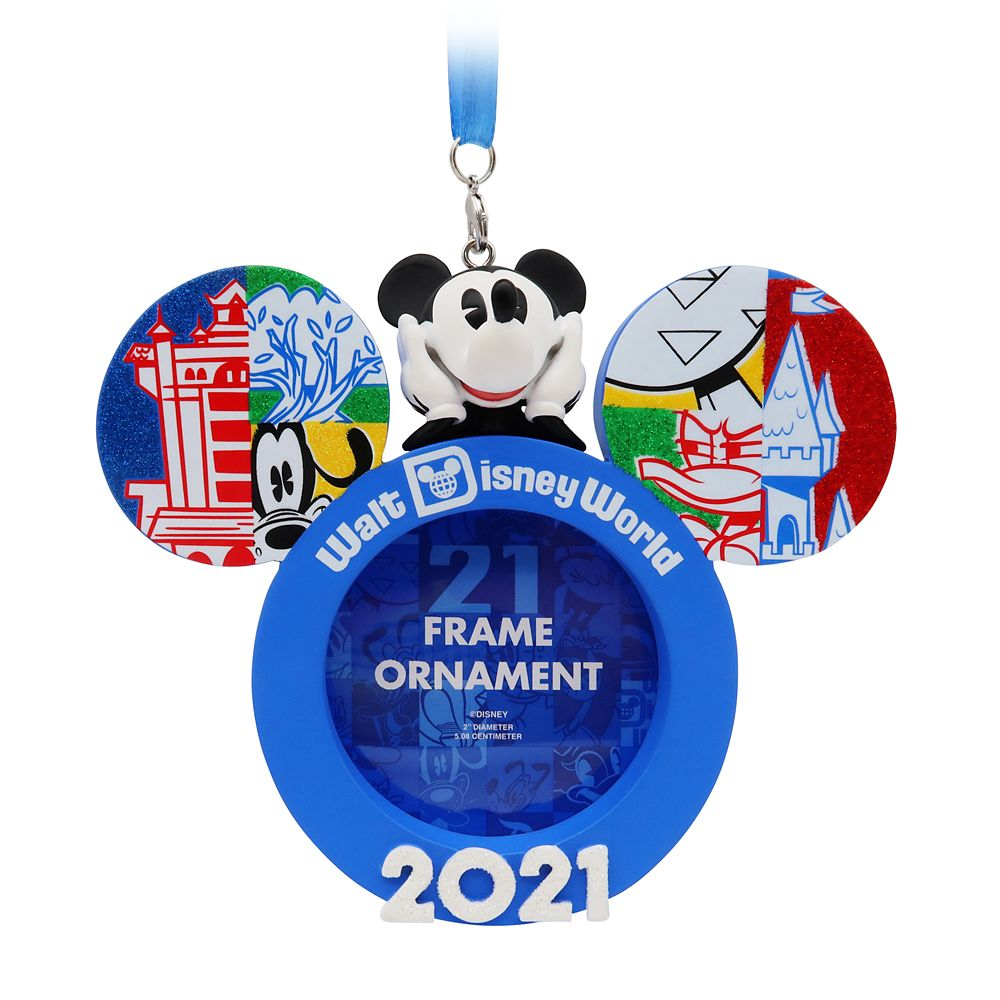 Mickey Mouse Frame Ornament – Walt Disney World 2021