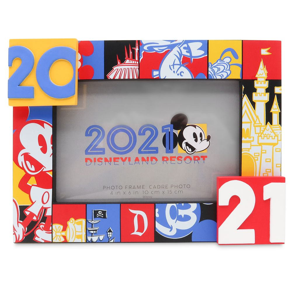 Mickey Mouse and Friends Photo Frame – 4'' x 6'' – Disneyland 2021
