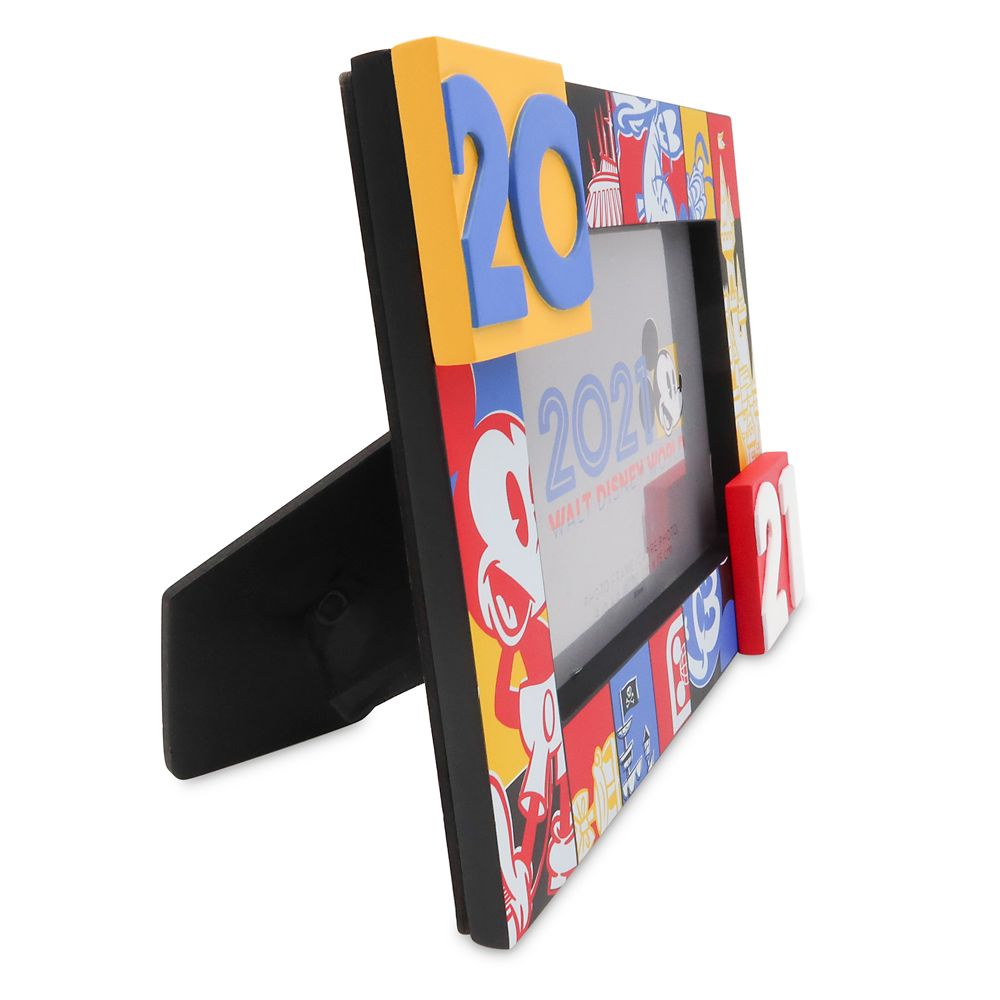 Mickey Mouse and Friends Photo Frame – 4'' x 6'' – Walt Disney World 2021