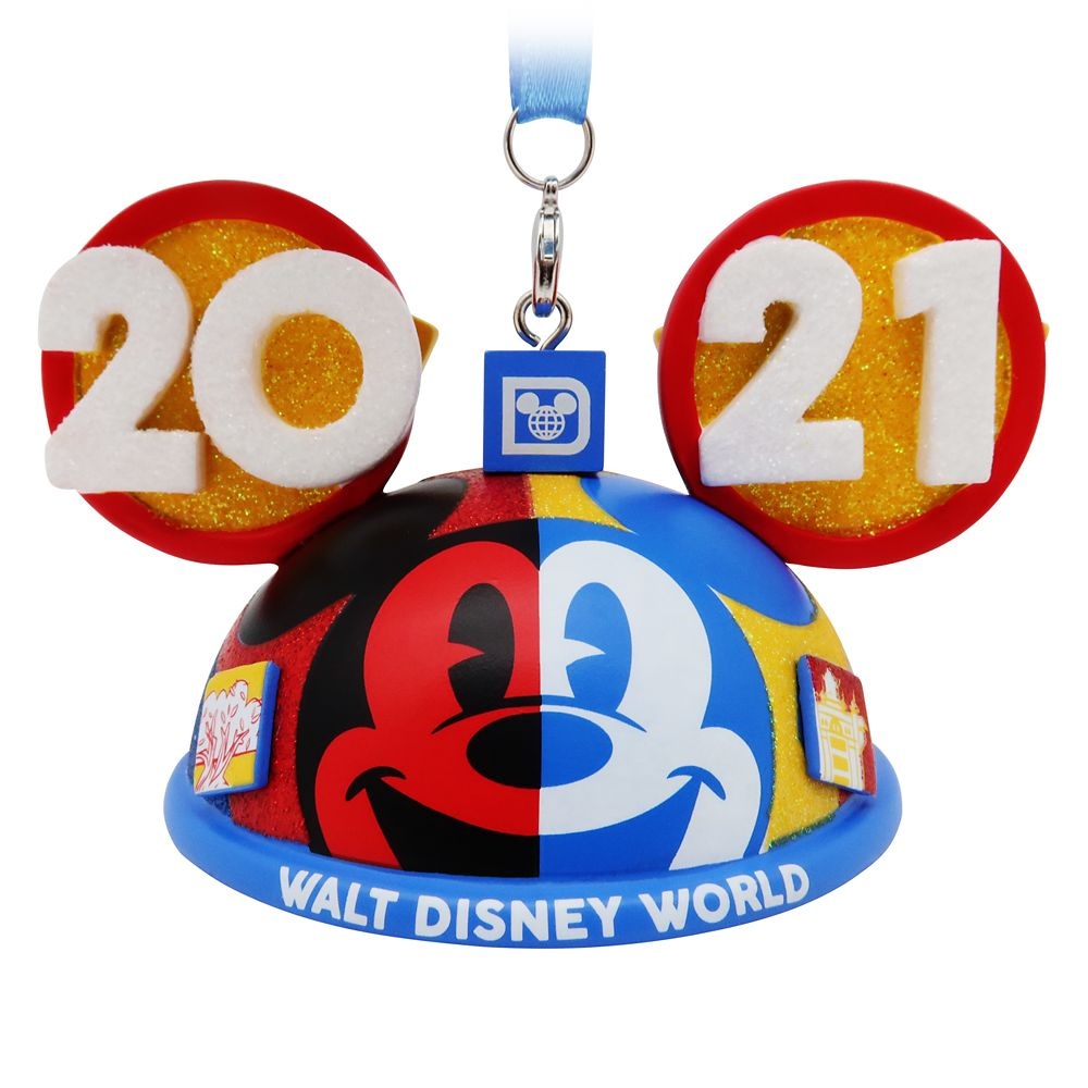 Mickey Mouse and Friends Ear Hat Ornament – Walt Disney World 2021