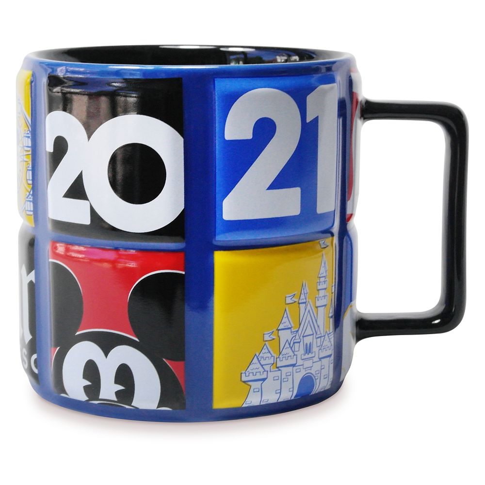 Mickey Mouse and Friends Mug – Disneyland 2021