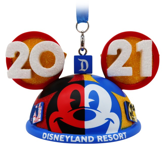 Mickey Mouse and Friends Ear Hat Ornament – Disneyland 2021