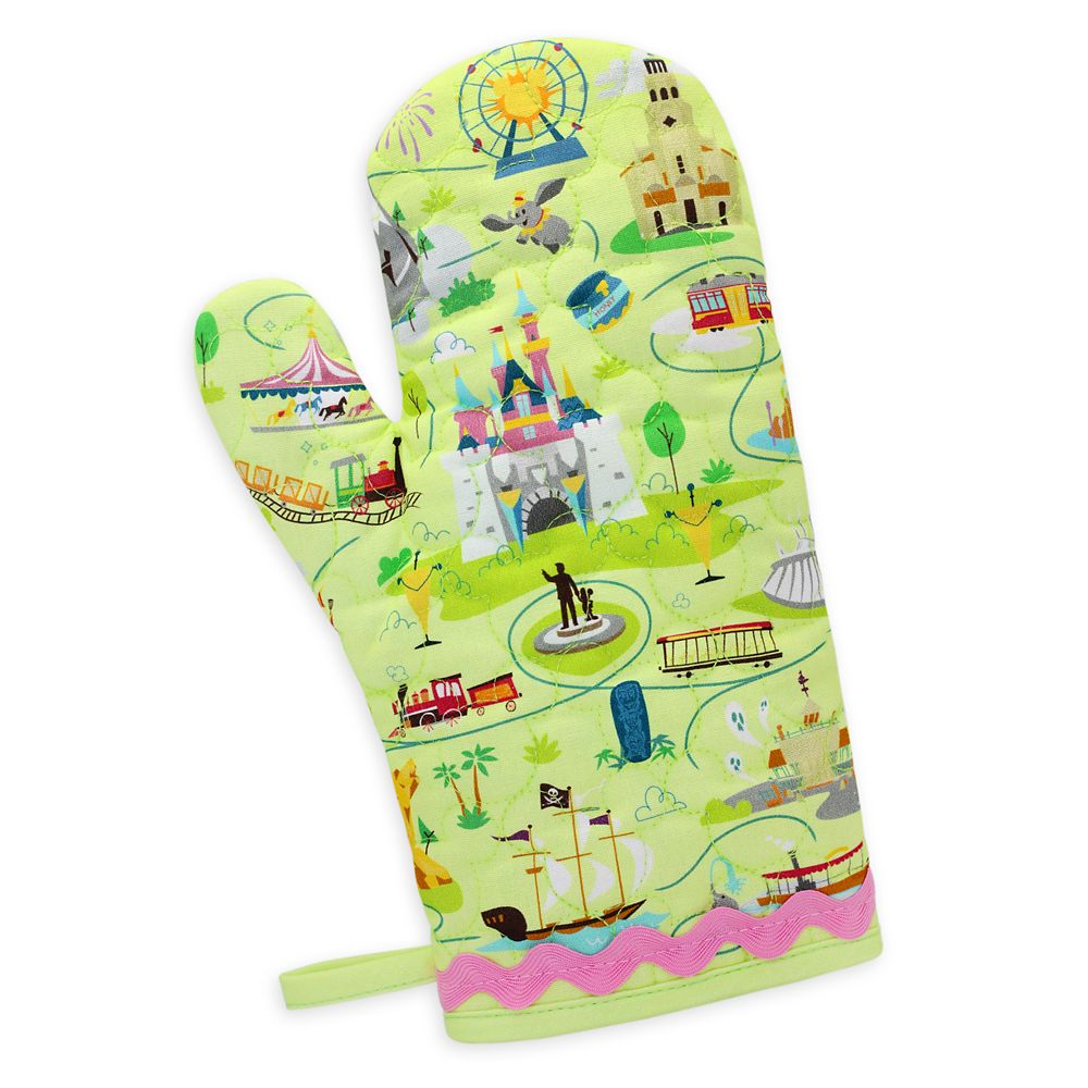 Disneyland Map Oven Mitt