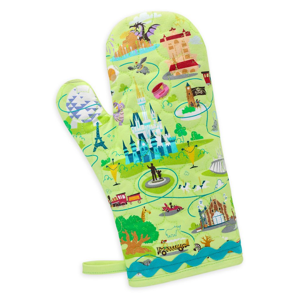 Walt Disney World Map Oven Mitt