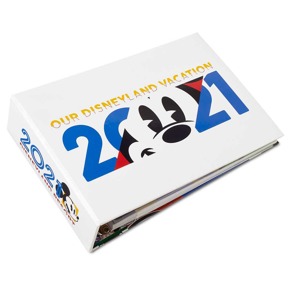 Mickey Mouse and Friends Photo Album – Disneyland 2021 – Small