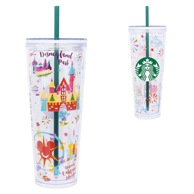 Disneyland Tumbler with Straw by Starbucks – Large