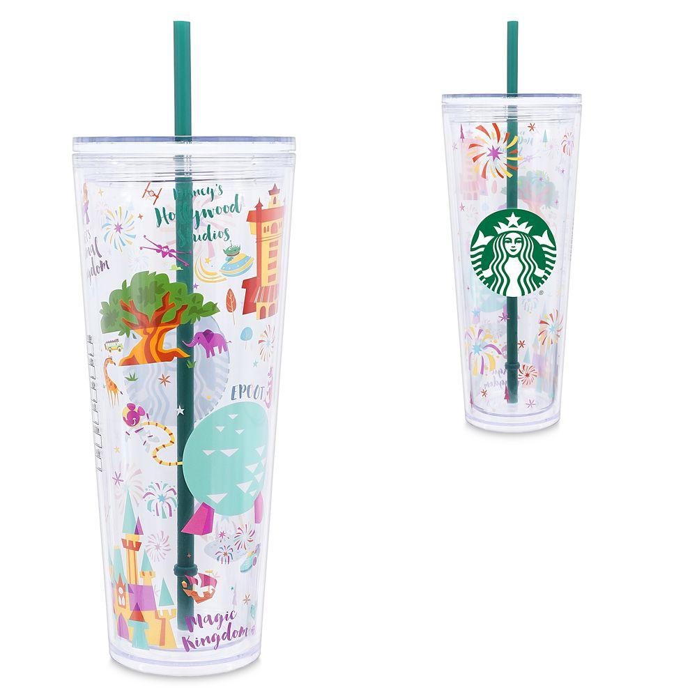 Walt Disney World Tumbler with Straw by Starbucks – Large