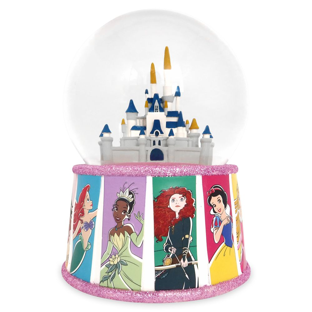 Disney Princess Snow Globe – Fantasyland Castle