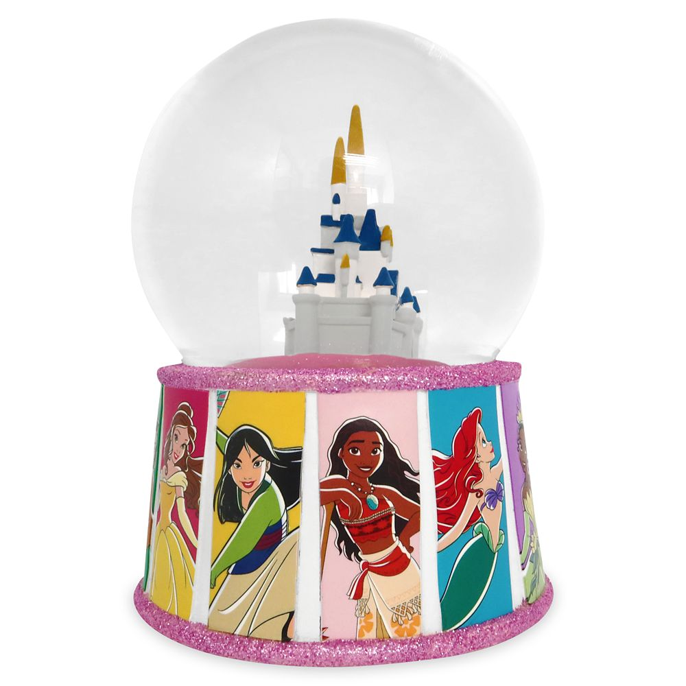 Disney Princess Snow Globe – Fantasyland Castle