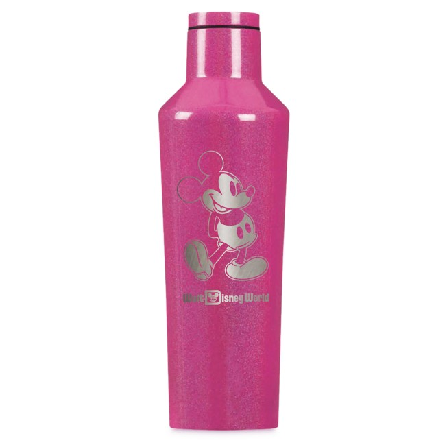 Mickey Mouse Stainless Steel Canteen by Corkcicle – Pink – Walt Disney World