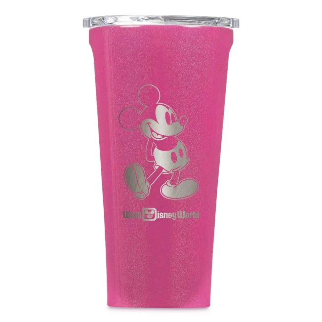 Mickey Mouse Stainless Steel Tumbler by Corkcicle – Pink – Walt Disney World