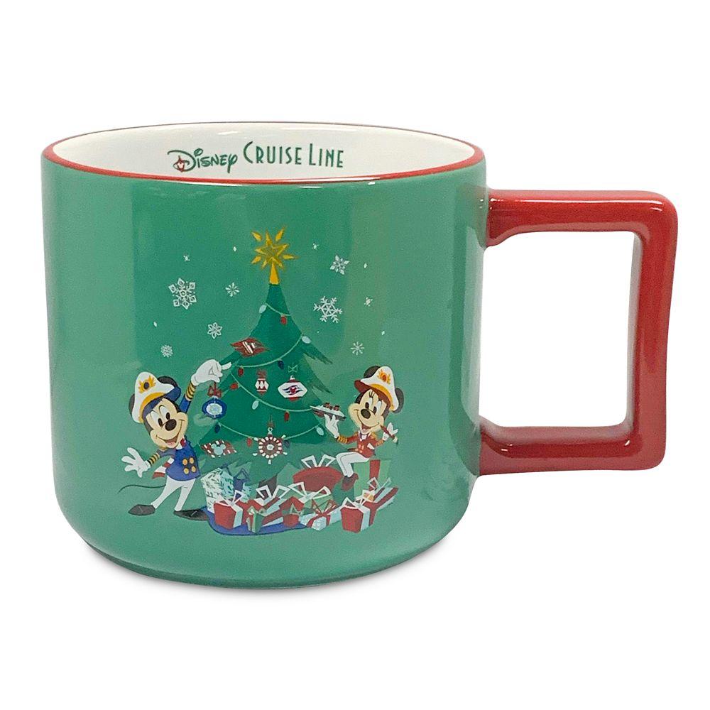 Disney Cruise Line Holiday Mug