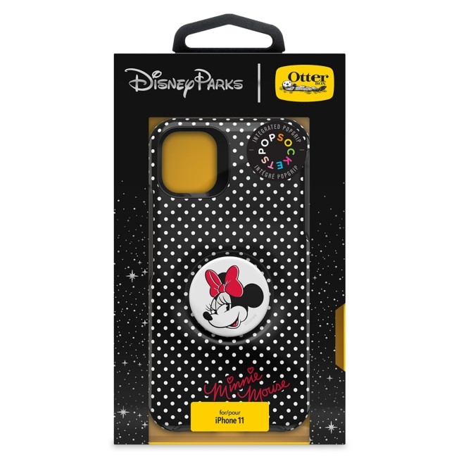 Minnie Mouse iPhone XR/11 Case by OtterBox with PopSockets PopGrip