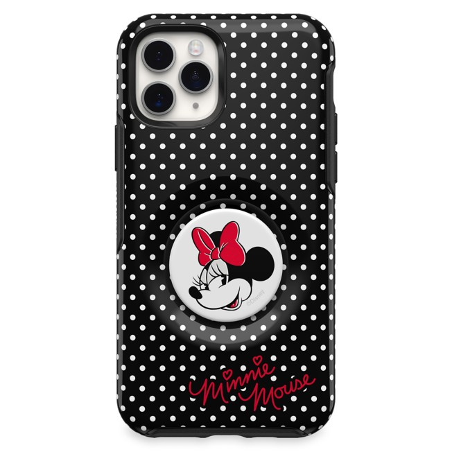 Minnie Mouse iPhone 11 Pro Case by OtterBox with PopSockets PopGrip