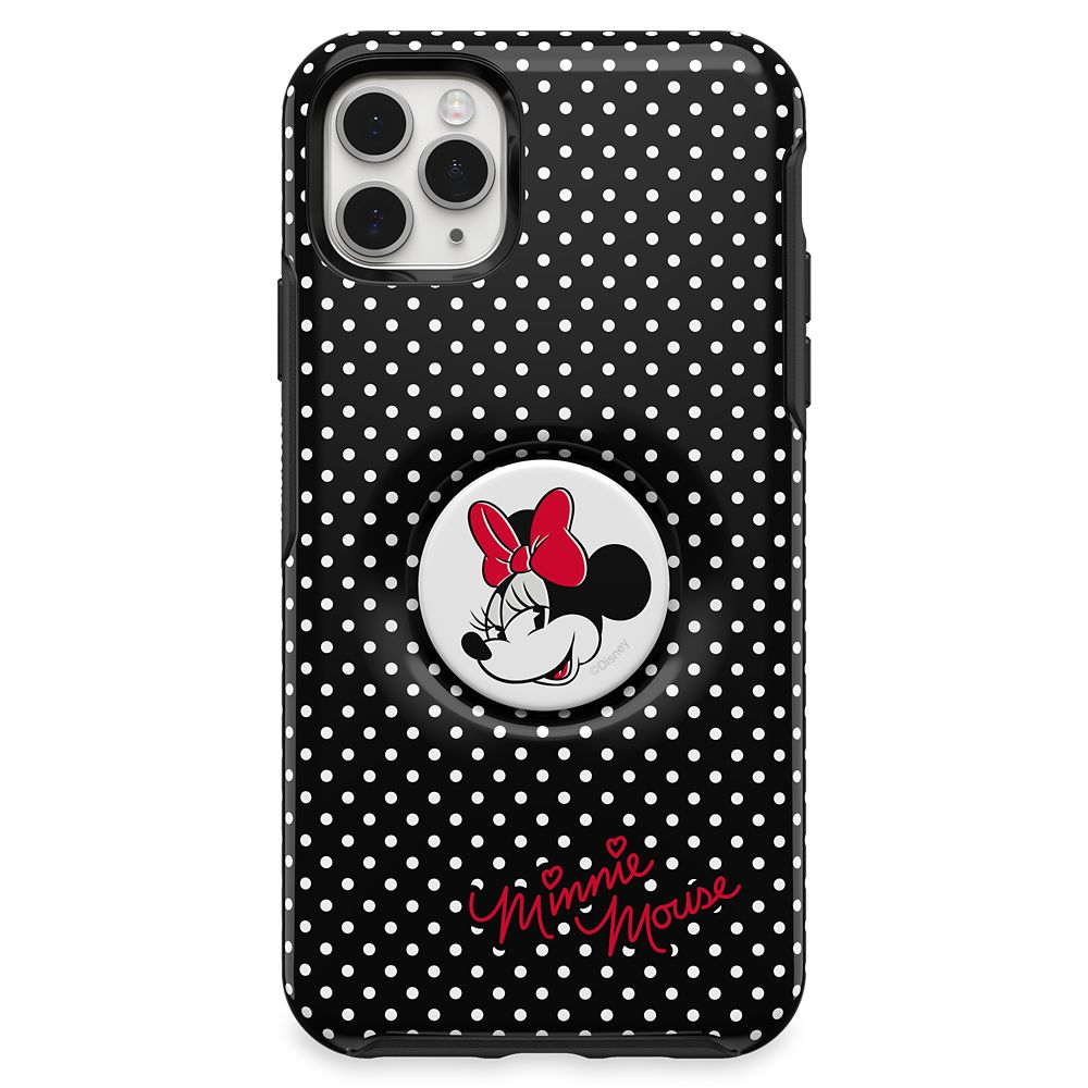 Minnie Mouse iPhone 11 Pro Max Case by Otterbox with PopSockets PopGrip