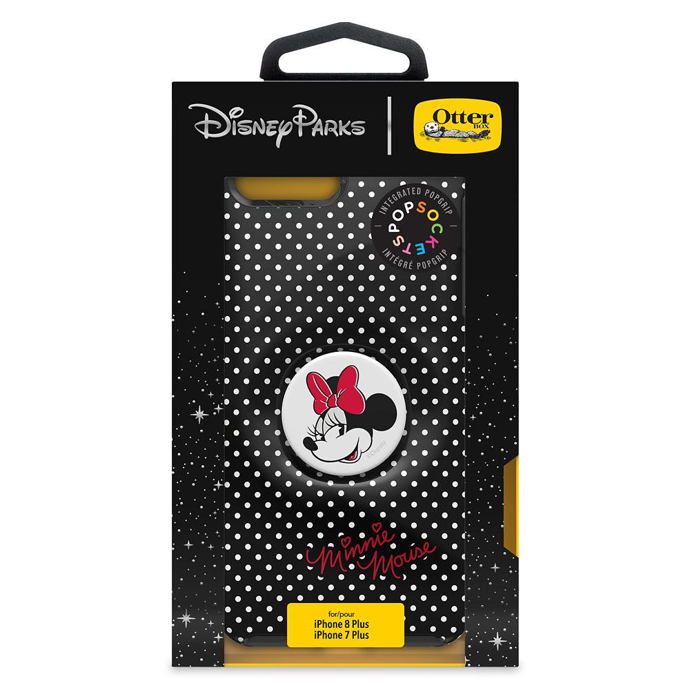 Minnie Mouse iPhone 8+/7+ Case by Otterbox with PopSockets PopGrip