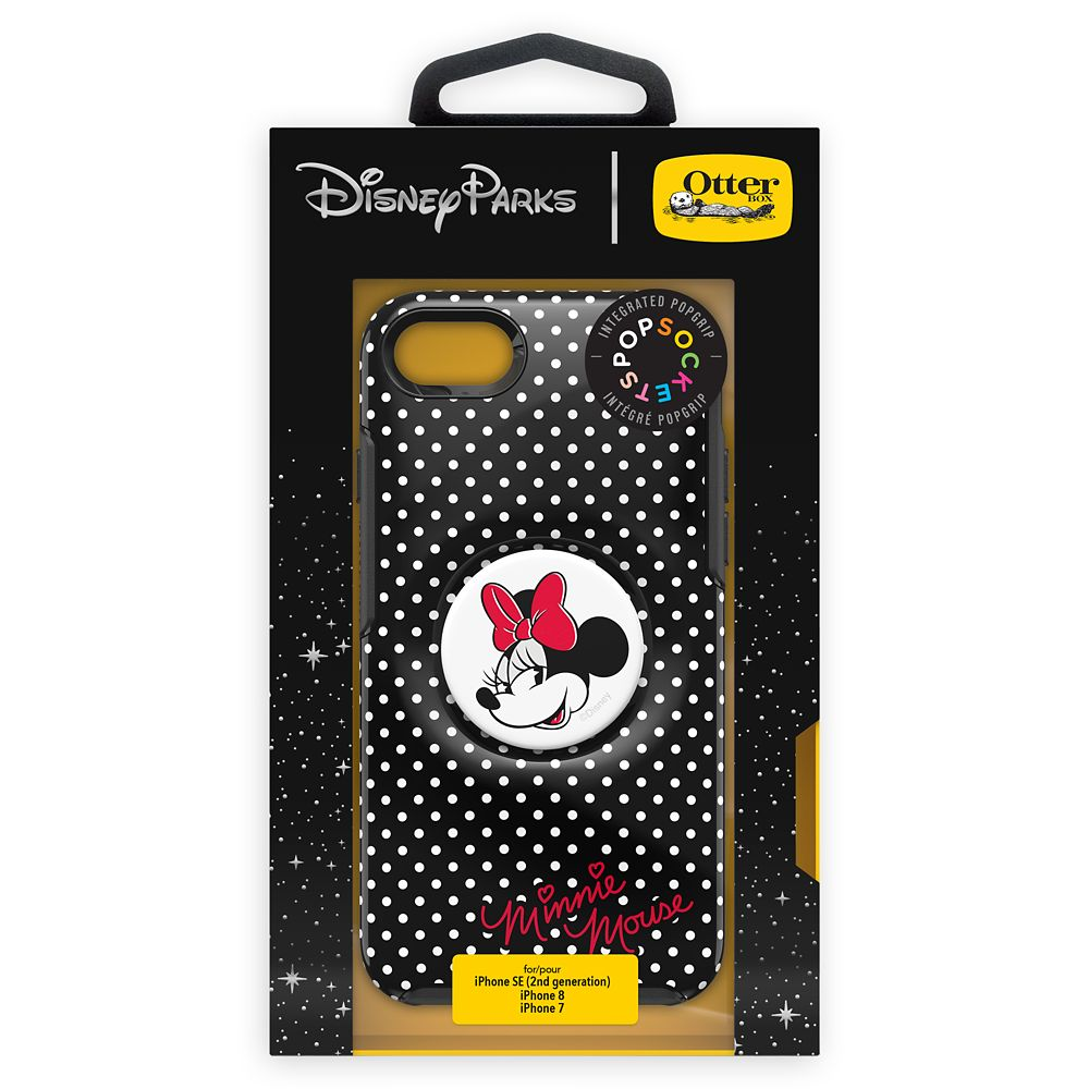 Minnie Mouse iPhone SE/8/7 Case by Otterbox with PopSockets PopGrip