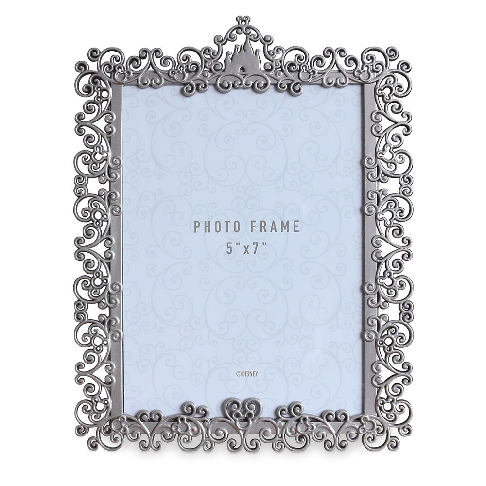 Fantasyland Castle Metal Wedding Photo Frame – 5'' x 7''