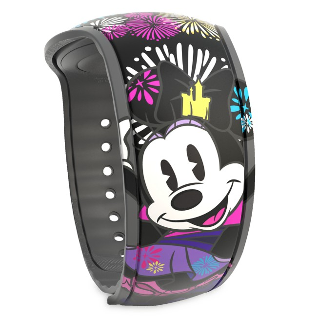 Minnie Mouse: The Main Attraction MagicBand 2 – Nighttime Fireworks & Castle Finale – Limited Release