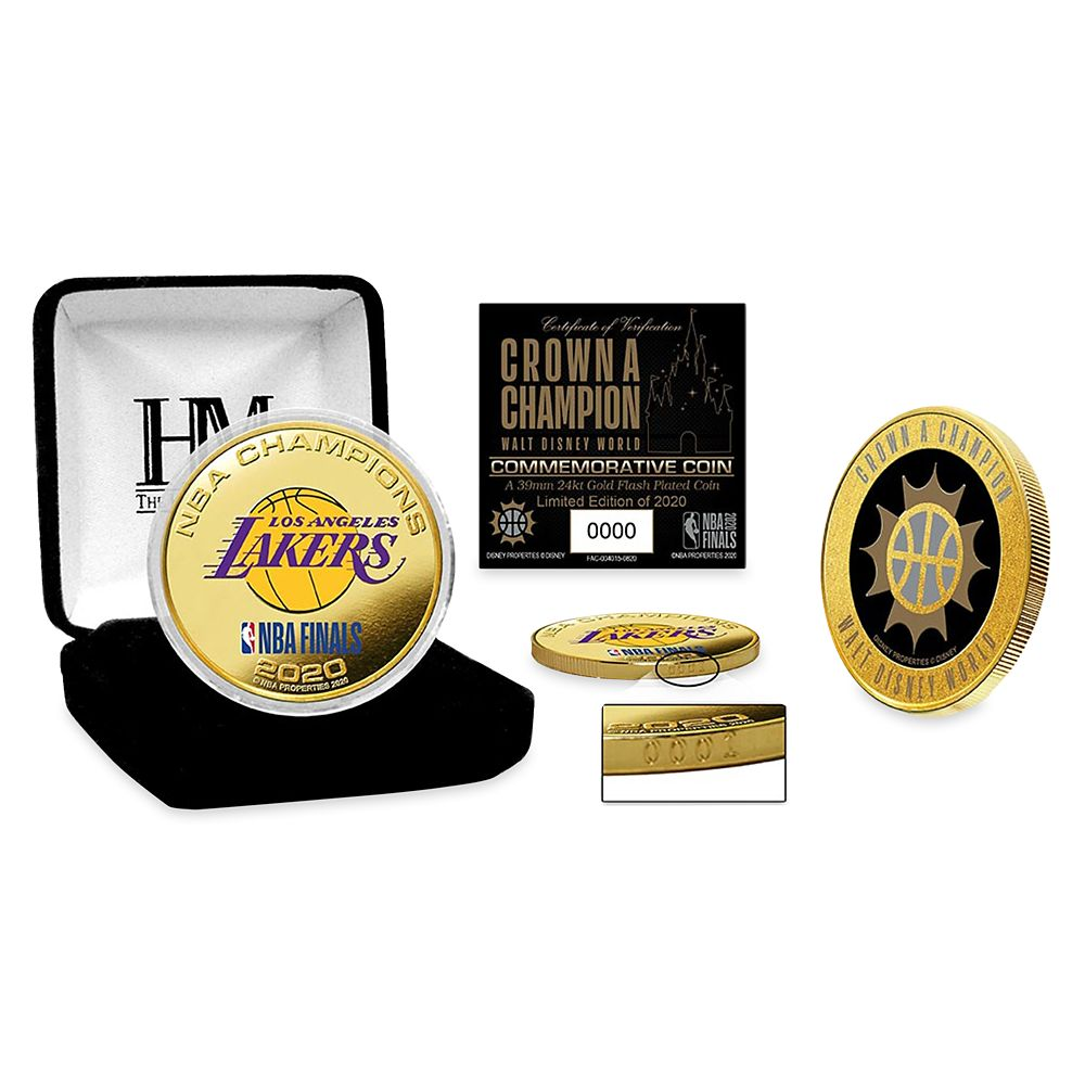 Los Angeles Lakers ''Crown a Champion'' Commemorative NBA Coin – Limited Edition