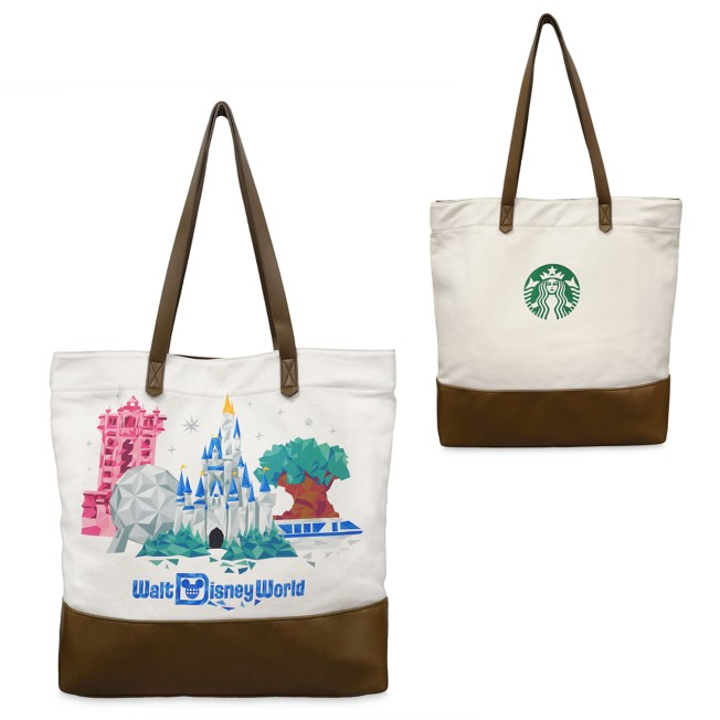 Walt Disney World Starbucks Canvas Tote