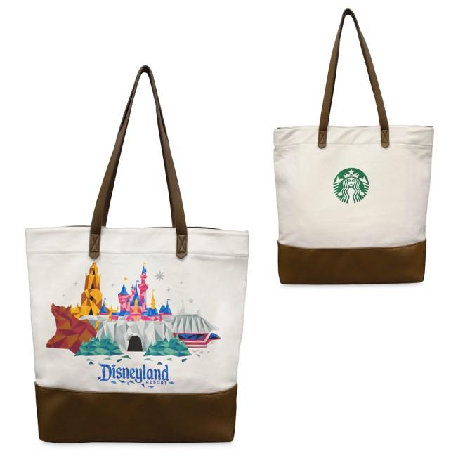 Disneyland Starbucks Canvas Tote