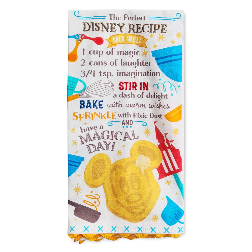 Mickey Mouse Waffle Kitchen Towel