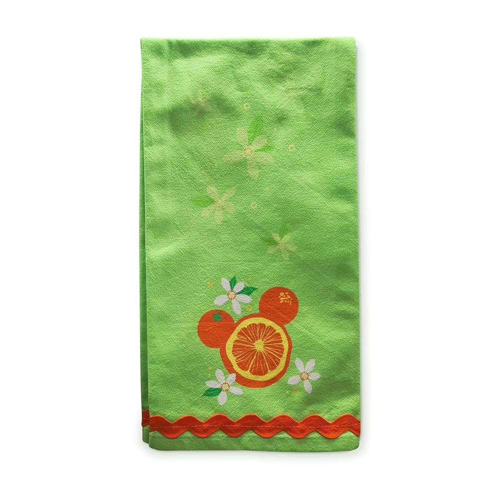 Orange Bird Kitchen Towel