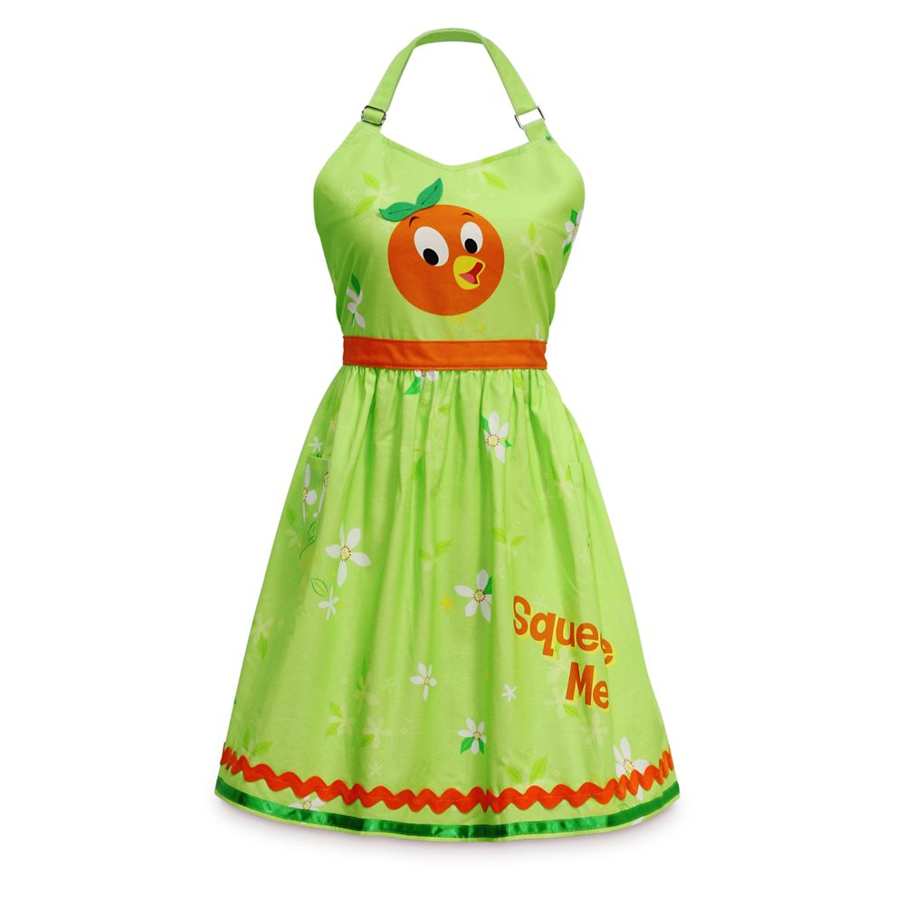 Orange Bird Apron for Adults