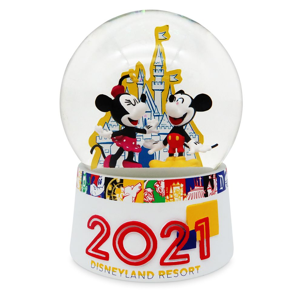 Mickey Mouse and Friends Water Globe – Disneyland 2021