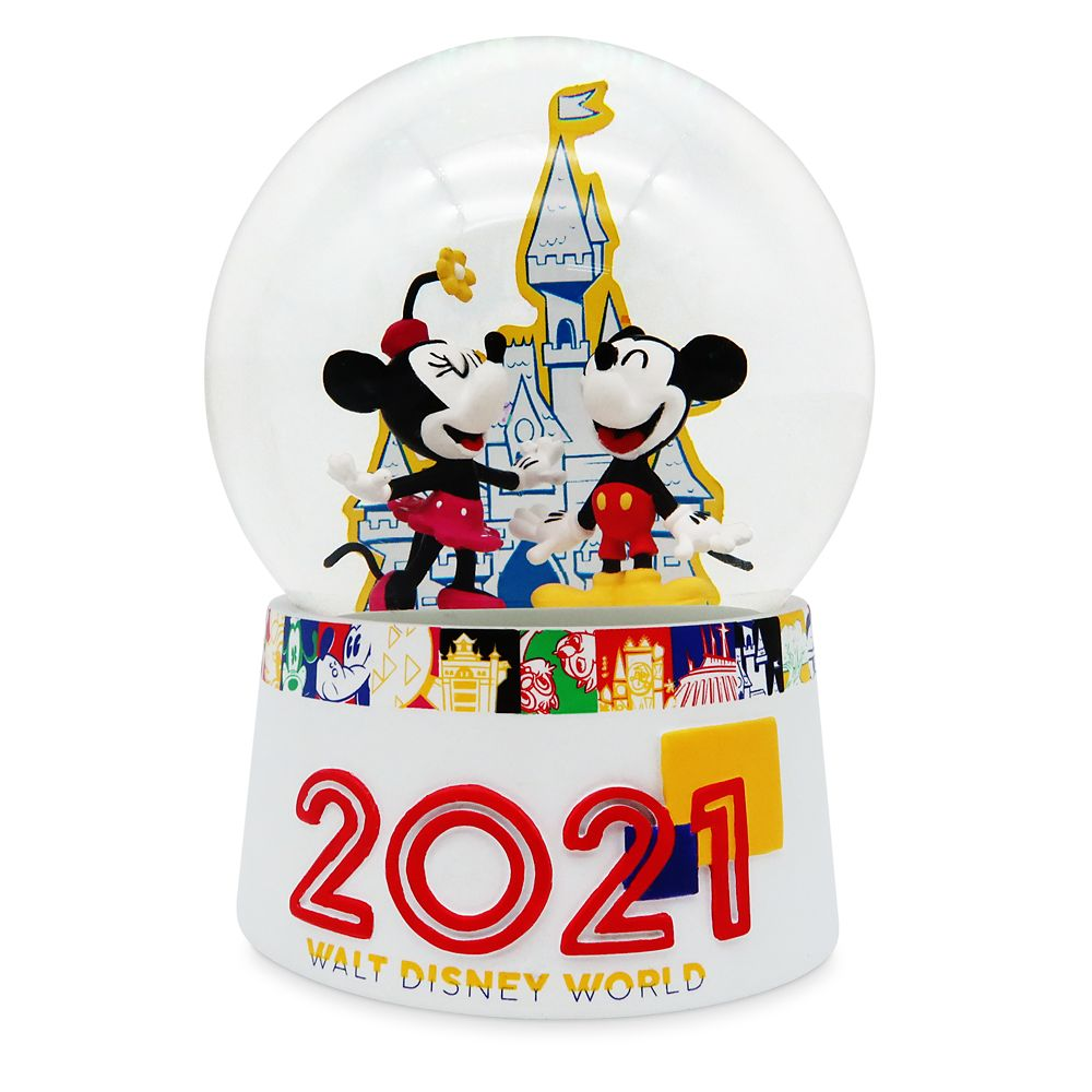 Mickey Mouse and Friends Water Globe – Walt Disney World 2021