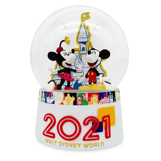 Mickey Mouse and Friends Water Globe – Walt Disney World 2021