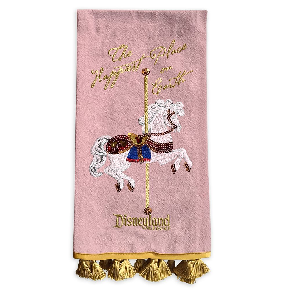 King Arthur Carrousel Kitchen Towel – Disneyland