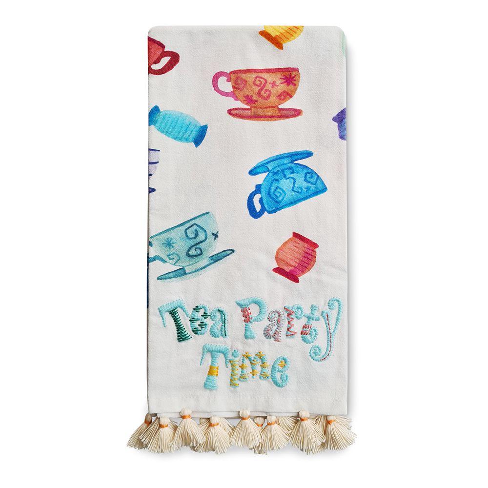 Mad Tea Party Tea Cups Kitchen Towel
