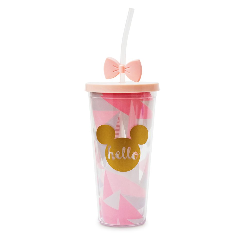 Mickey and Minnie Mouse ''Hello'' Travel Tumbler – Disneyland