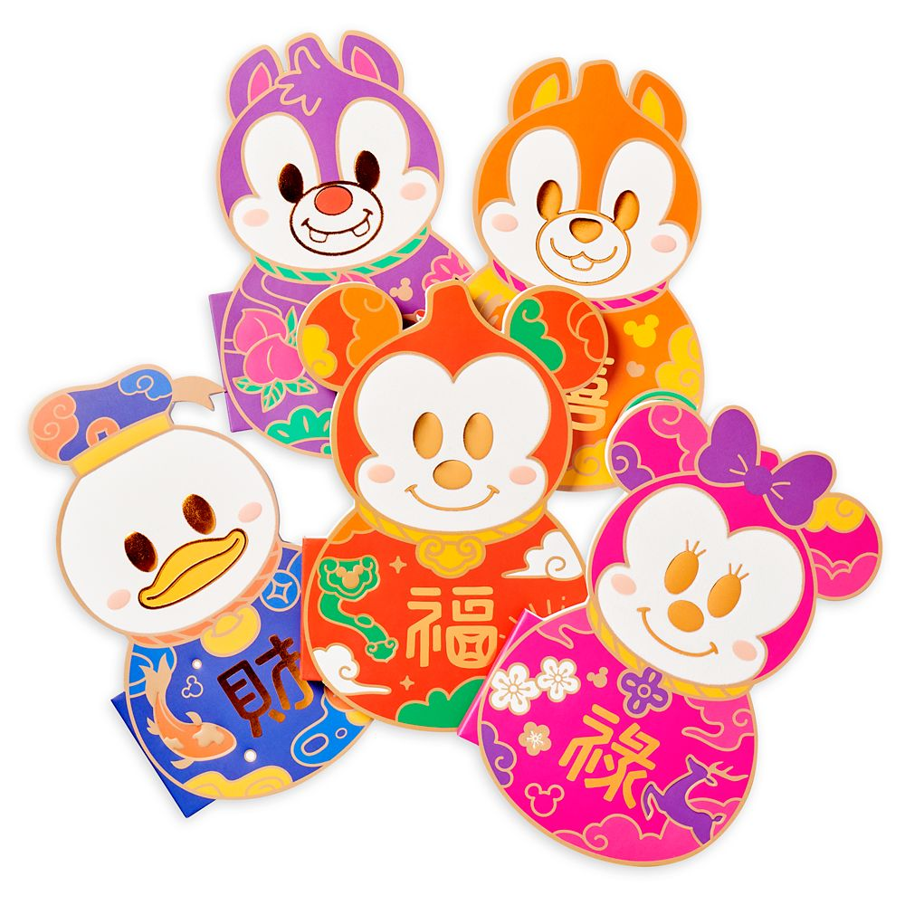 Mickey Mouse and Friends Notebook Set – Disneyland – Lunar New Year 2021