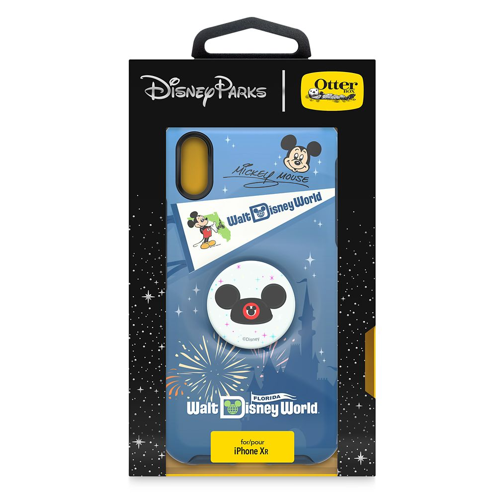 Mickey Mouse iPhone XR Case by Otterbox with Ear Hat PopSockets PopGrip – Walt Disney World