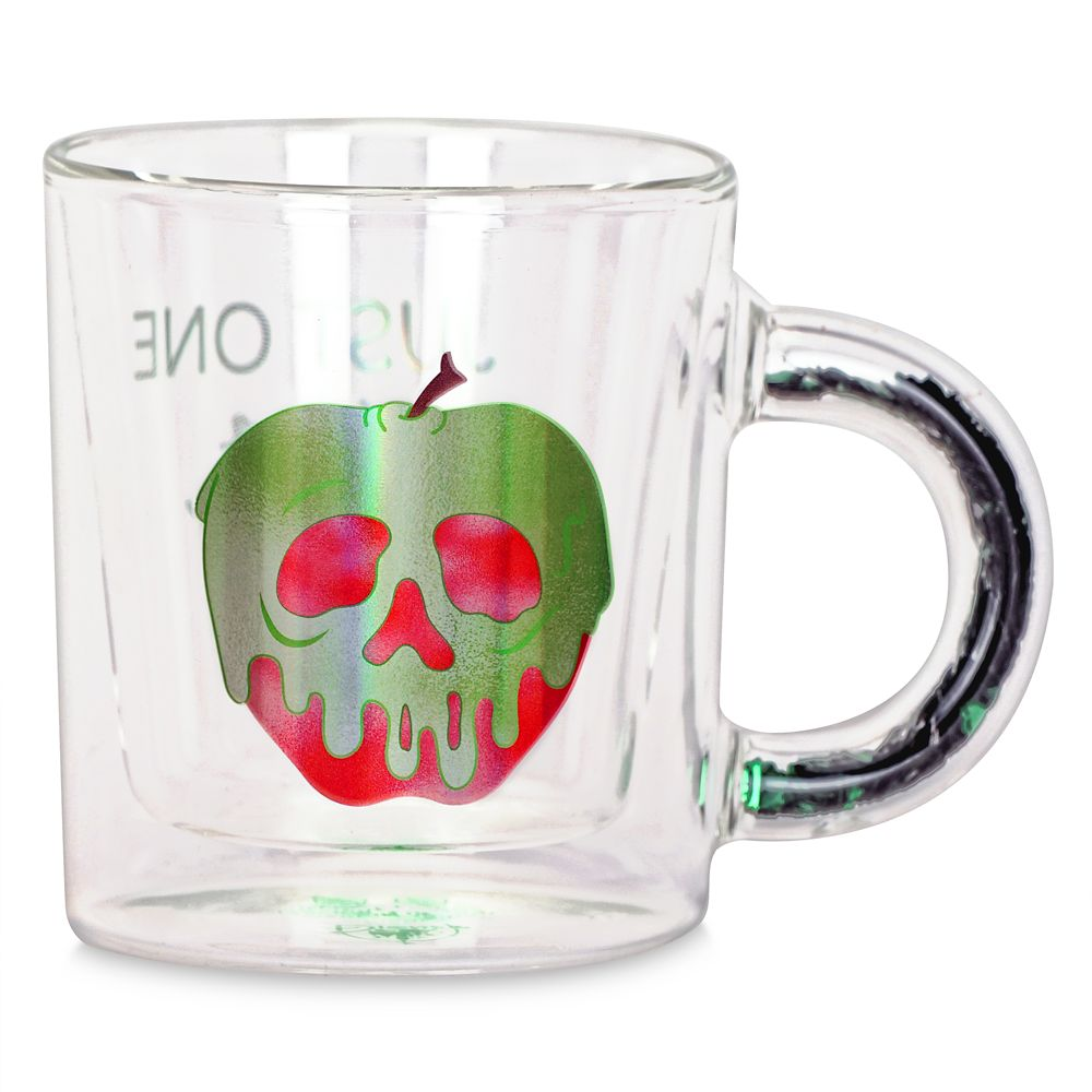 Poisoned Apple Glass Mug – Snow White and the Seven Dwarfs