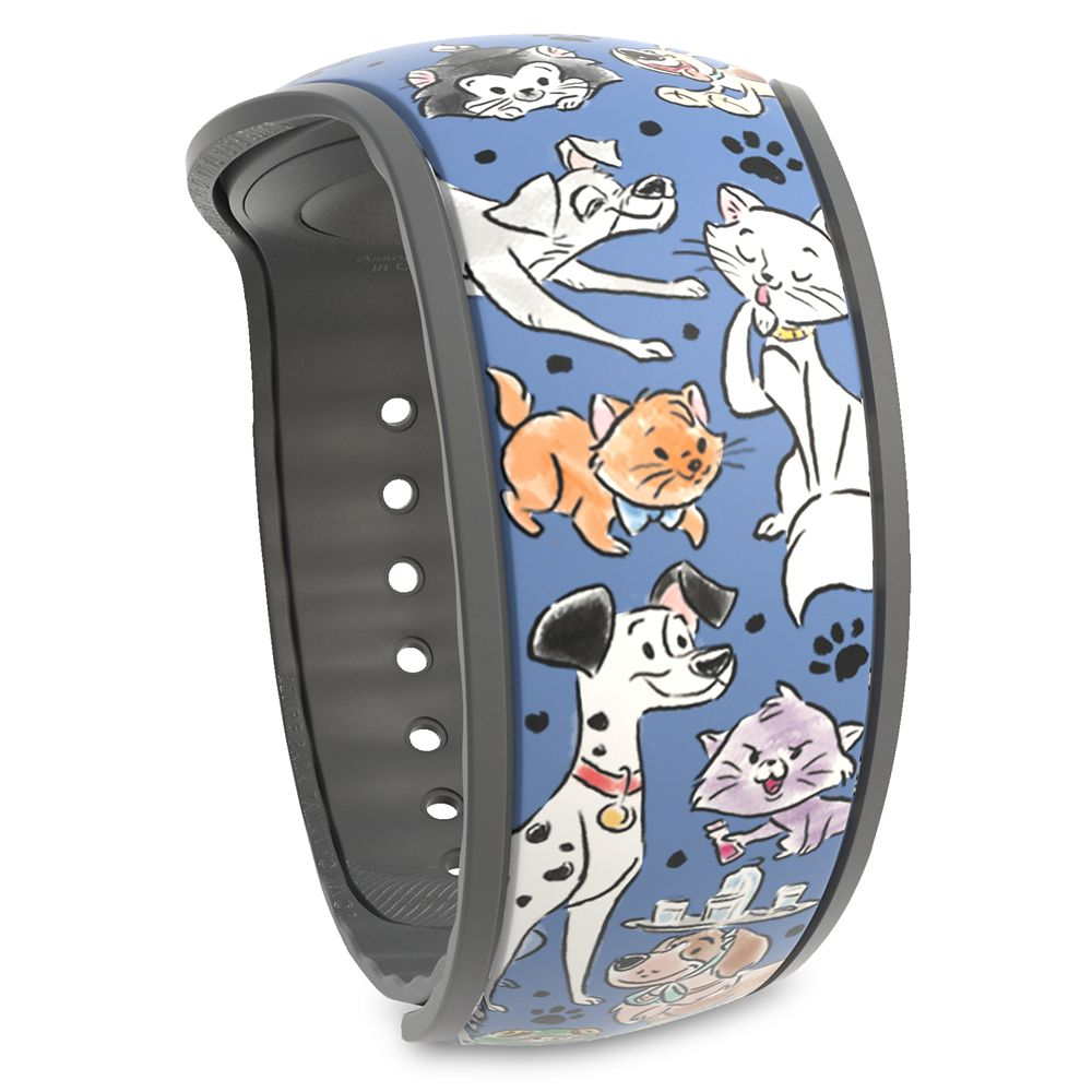 Disney Parks Reigning Cats and Dogs MagicBand 2  – Limited Release
