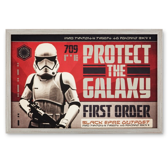 First Order Stormtrooper ''Protect The Galaxy'' Metal Sign – Star Wars: Galaxy's Edge