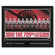 First Order Stormtrooper ''Join the 709th Legion'' Deluxe Print – Star Wars: Galaxy's Edge