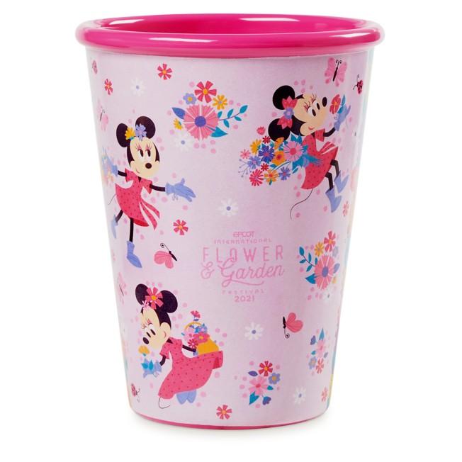Minnie Mouse Tumbler – Epcot International Flower and Garden Festival 2021