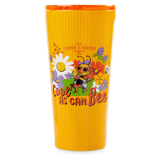 Spike Stainless Steel Tumbler by Corkcicle – Epcot International Flower and Garden Festival 2021