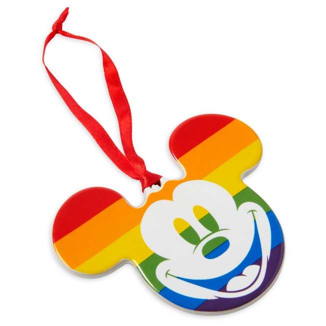 Mickey Mouse Icon Ornament – Rainbow Disney Collection