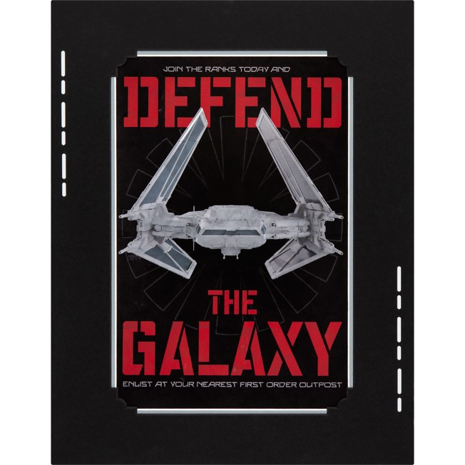 Star Wars: Galaxy's Edge ''Defend the Galaxy'' Deluxe Print