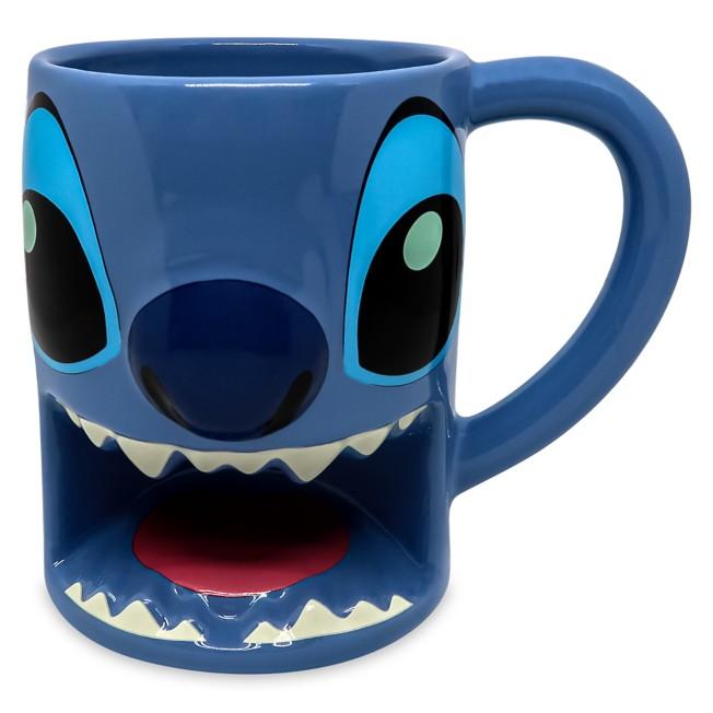Stitch Sculpted Mug
