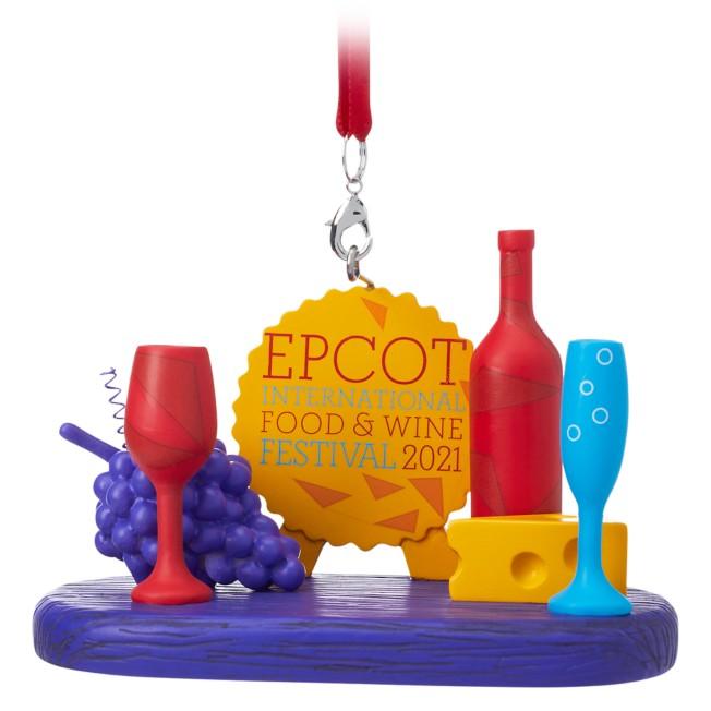 Epcot International Food & Wine Festival 2021 Ornament