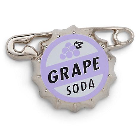 Russell's Grape Soda Bottlecap Pin - Up